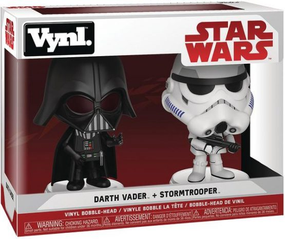Funko Vynl Darth Vader and Stormtrooper